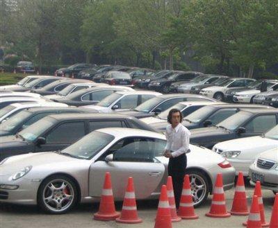 李咏超级跑车 保时捷911 惊现街头 高清图片