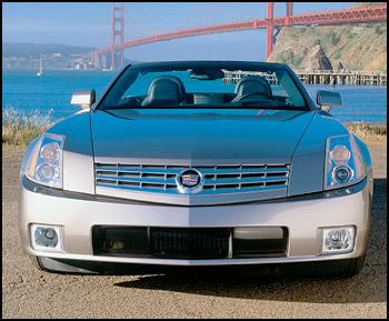 卡迪拉克cadillac xlr.而且日前刚在加州渡假胜地pebble beach高清图片