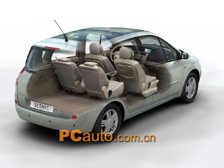 间的完美应用 雷诺追加第二代车型Scenic II
